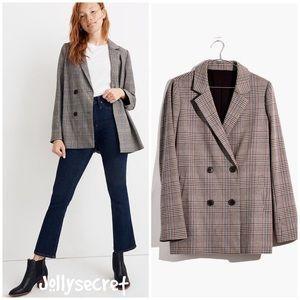 NEW Madewell menswear plaid blazer